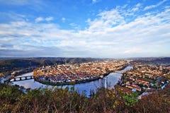 Cahors stad Royalty-vrije Stock Foto's