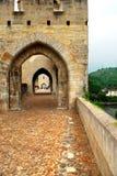 Cahors valentre mostu France Zdjęcie Stock