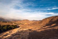 Cahuachi archaeological site, Nazca, Peru Stock Image