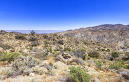 Cahuilla Reservation, California. View from the road to  Cahuilla Reservation, California Royalty Free Stock Photos