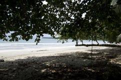 Cahuita National Park beach, Costa Rica Royalty Free Stock Photo