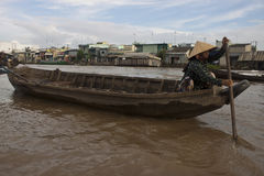 Cai Rang Floating Market Royalty Free Stock Images