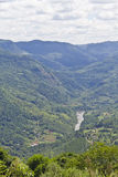 Cai river in Nova Petropolis - Rio Grande do Sul - Brazil Royalty Free Stock Photos