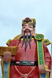 CAI Shen: Κινεζικός Θεός της ευημερίας Στοκ Φωτογραφίες