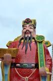 Cai Shen: Китайский бог зажиточности стоковые фото