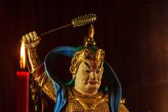 Cai Shen, Chinese God van rijkdom, God van fortuin Royalty-vrije Stock Foto's