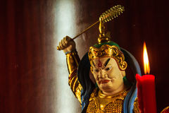Cai Shen, Chinese God of wealth, God of fortune. Stock Photos