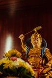 Cai Shen, dios chino de la riqueza, dios de la fortuna Foto de archivo