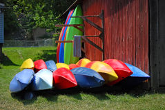 Caiaque coloridos Fotos de Stock