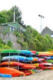 caiaque coloridos do mar Imagem de Stock Royalty Free