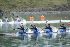 Caiaque de Checo 4 - sprint do caiaque Fotos de Stock Royalty Free