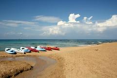 Caiaque do mar Fotos de Stock