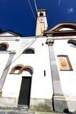 caiello в старой церков закрыло lomb Италии тротуара кирпича Стоковые Изображения RF