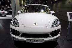 Caienna-s-ibrido della Porsche Immagine Stock Libera da Diritti