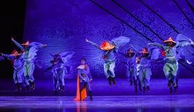 """Caiga sobre un sueño del """"The del drama de la otro-danza del  de seda marítimo de Road†Imagenes de archivo"""
