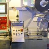 Cailler, Chocolate Factory machine Stock Photos