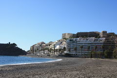 caillou Espagne de plage Photos stock