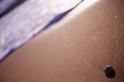 Caillou sur la plage Image stock