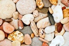 Caillou sur une plage Image libre de droits