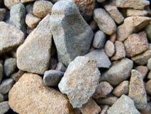 Cailloux au sol Photos libres de droits