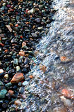 Cailloux de plage Image libre de droits