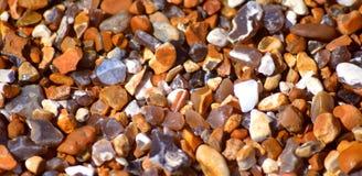 Cailloux de plage de Brighton Images libres de droits