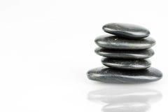 Cailloux de zen Photographie stock libre de droits