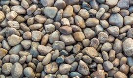 Cailloux en pierre multicolores pour des textures de fond Images libres de droits