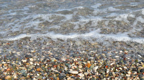 Cailloux et eau images stock