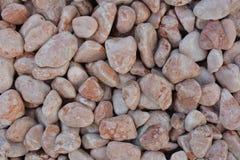 Cailloux et petites pierres pour la décoration de jardin Image stock