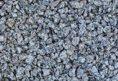 Cailloux et petites pierres pour la décoration de jardin Images libres de droits