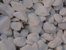 Cailloux et petites pierres pour la décoration de jardin Photos stock