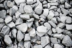 Cailloux gris Photos libres de droits