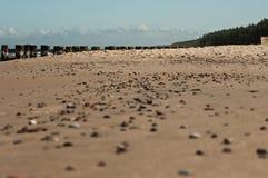 Cailloux sur la plage 4 Photos libres de droits