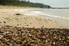 Cailloux sur la plage 1 Image libre de droits