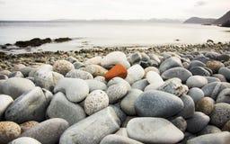 Cailloux sur la plage Photos stock