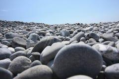 Cailloux sur la plage image libre de droits