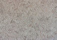 Cailloux sur la texture de fond de mur Photos libres de droits
