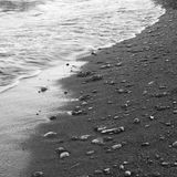 Cailloux sur une plage Images stock