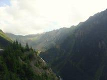 Cailor di Cascada e le montagne di Transylvanian Immagini Stock