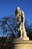 Cain statue in Tuileries garden in Paris, France Royalty Free Stock Images