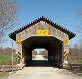 Caine Road Covered Bridge Royalty Free Stock Photography