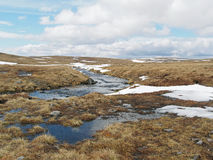 Cainrgorms plateau, Scotland in spring Stock Photo