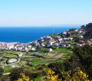 Caion landscape- North Coast Spain Royalty Free Stock Photo
