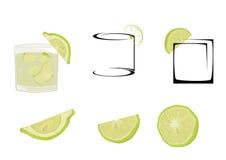 caipiriña del cocktail Immagine Stock Libera da Diritti