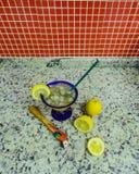 Caipirinha brésilien délicieux Photos stock