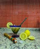 Caipirinha brésilien typique Photographie stock