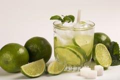 Caipirinha - brazilian`s national cocktail made with cachaca, su Royalty Free Stock Photography