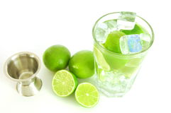 Caipirinha cocktail Stock Photos