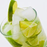 Caipirinha cocktail Royalty Free Stock Photography